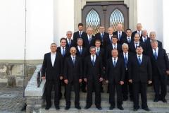 Gruppenbild Männerchor Heiligkreuz